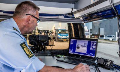 politiet havde fartkontrol i Nyråd ved Vordingborg