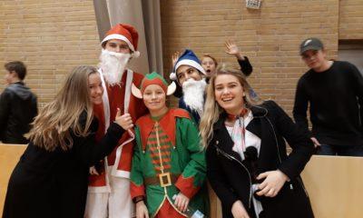 Juletradition på Iselingen