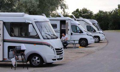 autocamper på Møn i Stege tyveri
