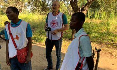 Røde Kors indsamling i Vordingborg. Arne-Holdensen-i-Malawi.-x