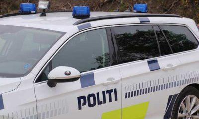 knallert på Sydmotorvejen ved Vordingborg