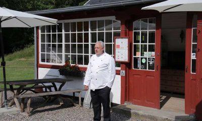 Restaurant på Møn Fanefjord Skovpavillon Lars Kleist