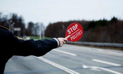 Falske nummerplade på Vordingborgvej. Stoppet af politiet