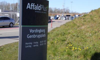 Genbrugsplads i Vordingborg Kommune