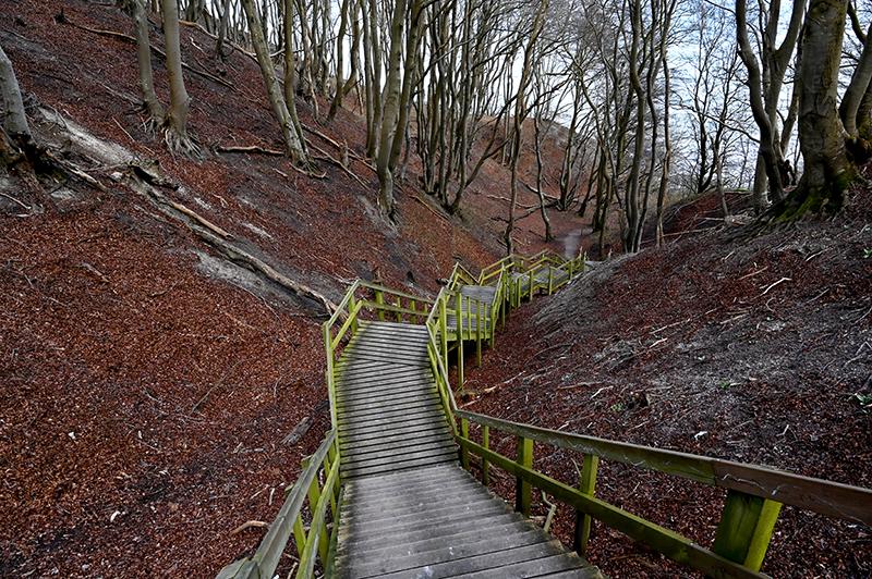 Møns Klint trappe