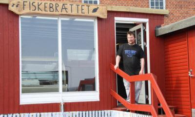 Fiskebutik i Stubbekøbing Fiskebrættet
