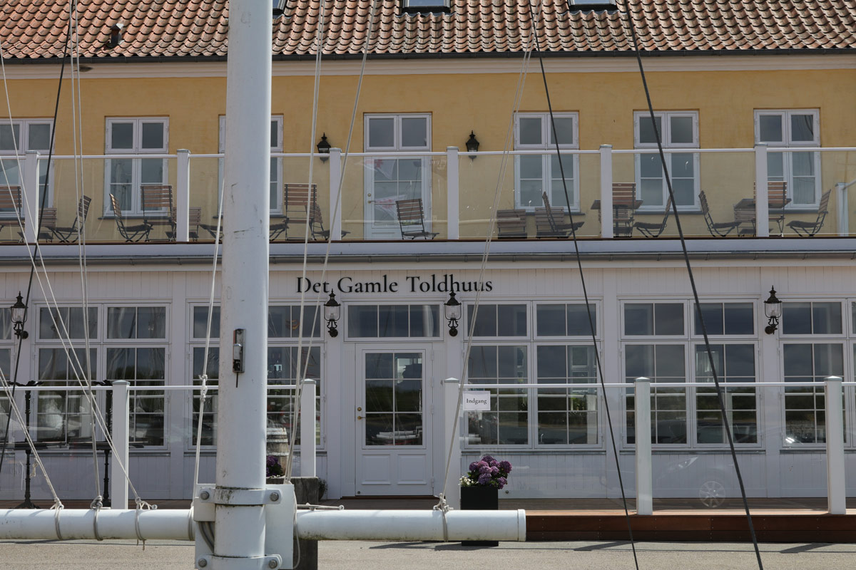 Det Gamle Toldhuus i Præstø restaurant spisested