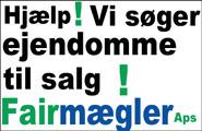 Ejendomme. Fairmægler søger boliger i Vordingborg