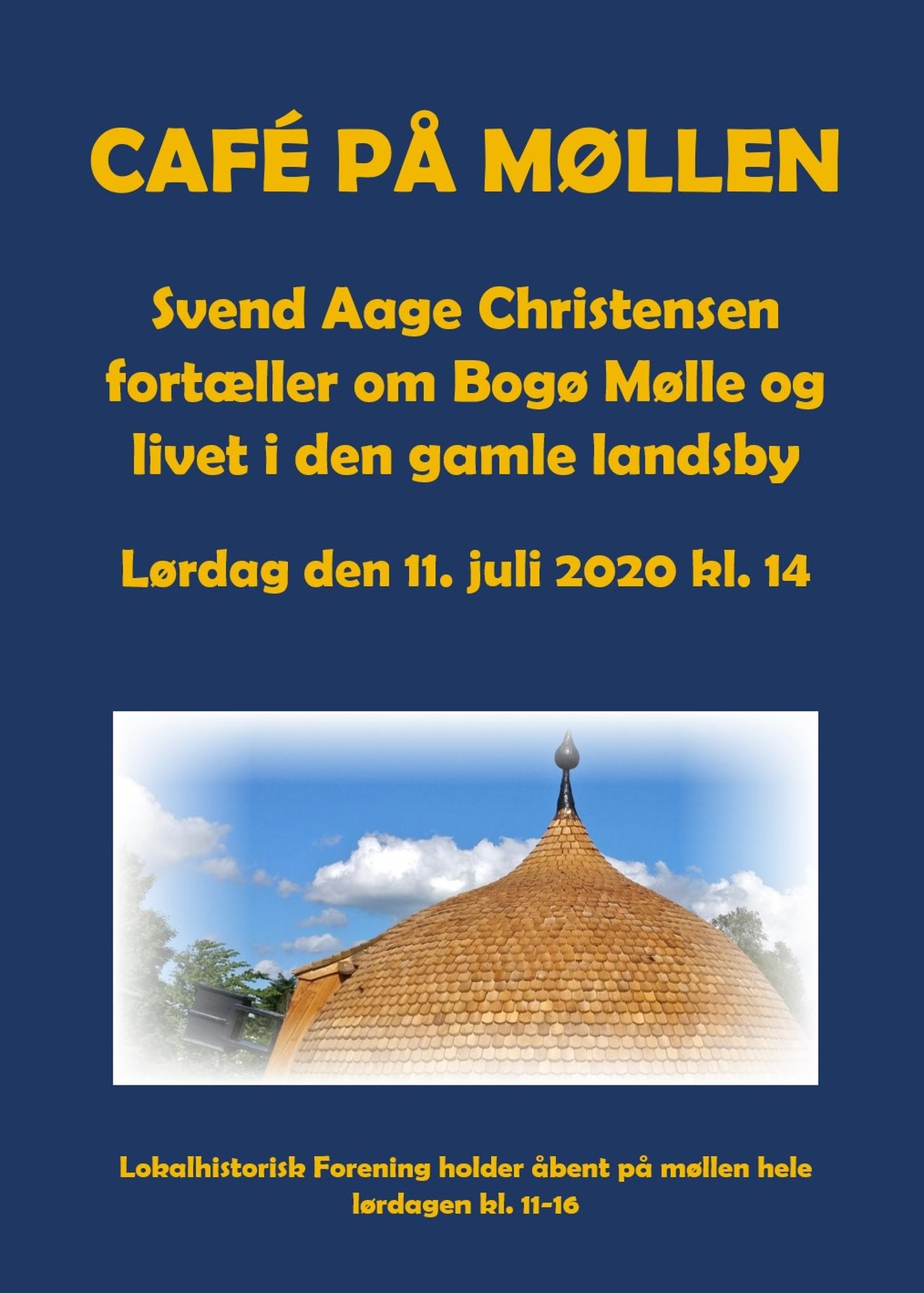 Bogø Mølle Café Lokalhist. BLÅ