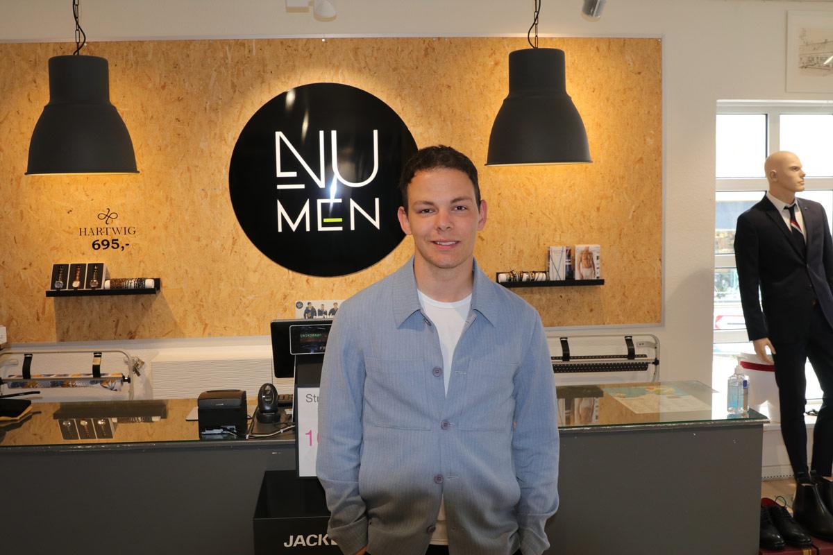 Ung iværksætter har 3 års dag i sin butik i Vordingborg