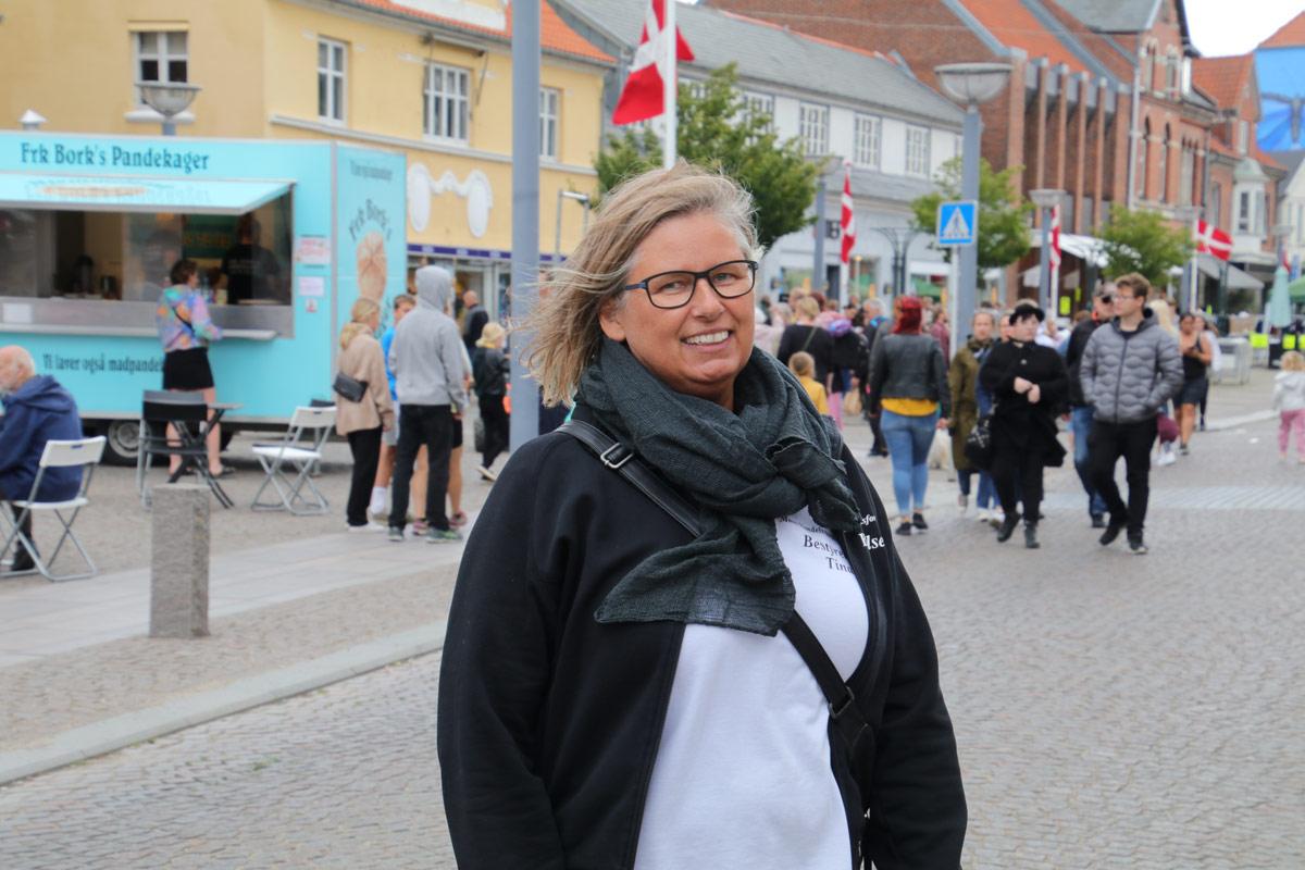 Stege-Marked-Møn-2020-gågade-Tina-Olsen-formand-møns handelsstandsforeningen-IMG_6629