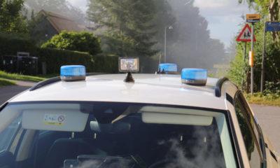 Gik på motorvejen ved Bårse Politi--politibil-vordingborg-politi-IMG_7107
