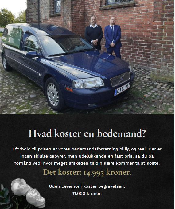 Bedemand Vordingborg Møn Præstø Lolland Falster