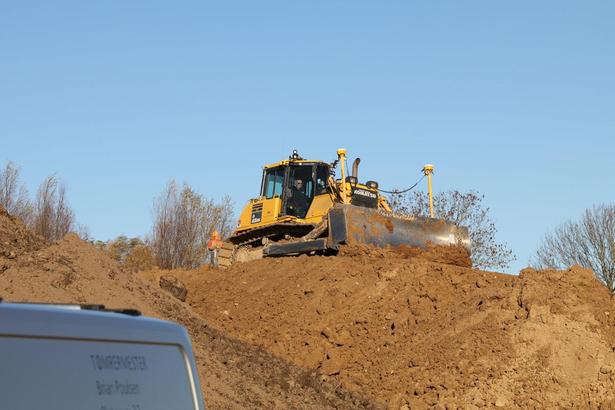 Tømrermester Brian Poulsen BP tømreren Vordingborg bulldozer