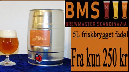 Fadøl på dåse 5 L fra BMS øl