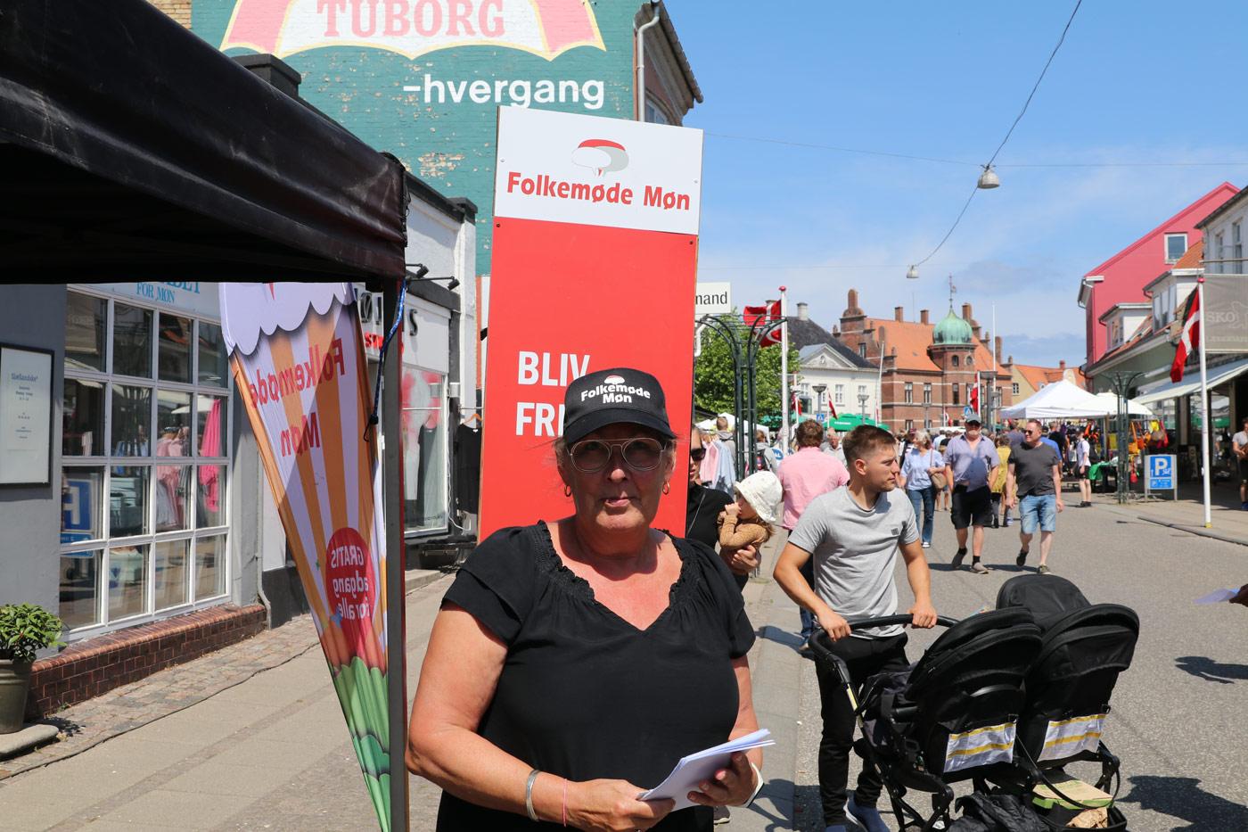 Folkemøde Møn søger frivillige Vibeke Grønbæk