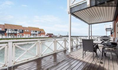 Klintholm Havneby 39 lækker fritids lejlighed feriebolig Møn
