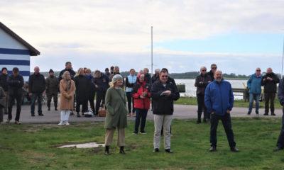Folkemøde på Hårbølle Havn